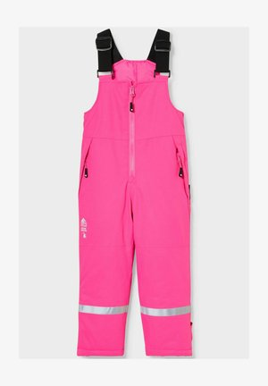 Dungarees - neon pink