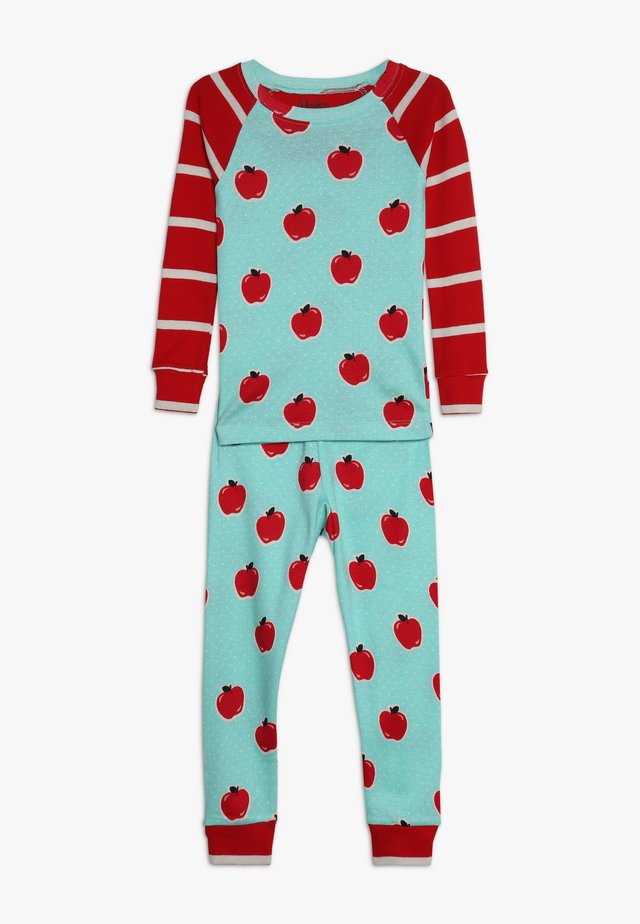 KIDS CLASSIC APPLES AND DOTS - Pyjama set - turquoise