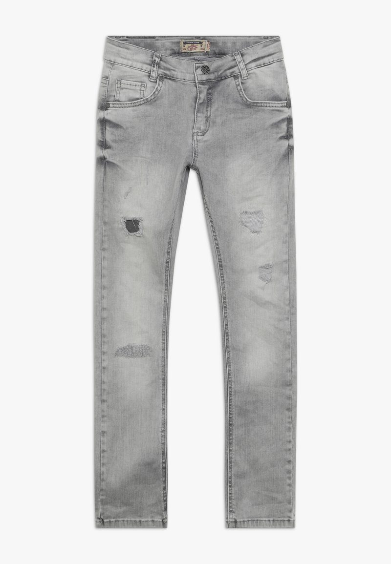 Blue Effect - BOYS HEAVY DESTROYED - Jeans Skinny Fit - medium grey destroyed