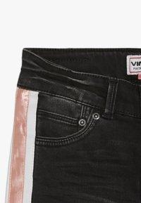 Vingino - BEATA - Skinny džíny - black vintage - 4