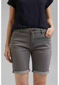 Esprit - Denim shorts - grey medium washed - 5