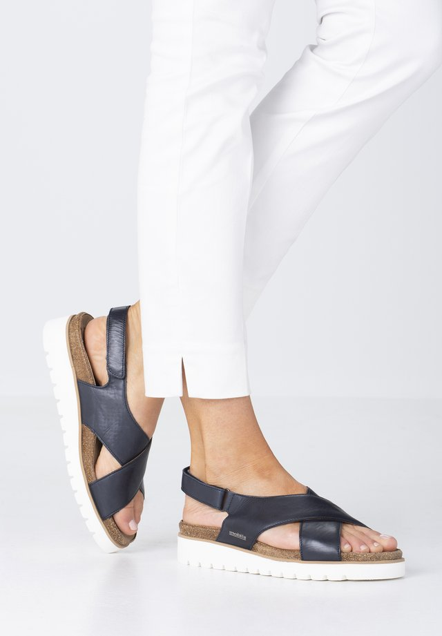 TALLY - Sandals - deep blue