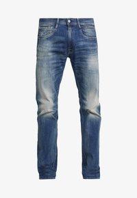 Replay - NEWBILL  - Straight leg jeans - medium blue - 4