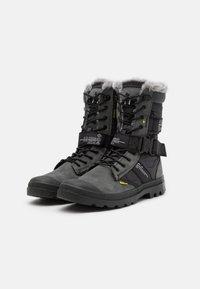 Palladium - DESTINY BOOT HIGH - Veterlaarzen - black/raven - 1