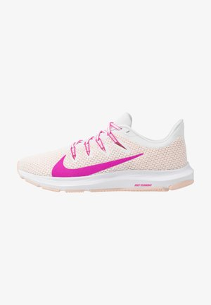 QUEST 2 - Zapatillas de running neutras - summit white/fire pink/washed coral