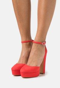 Even&Odd - High heels - red - 0