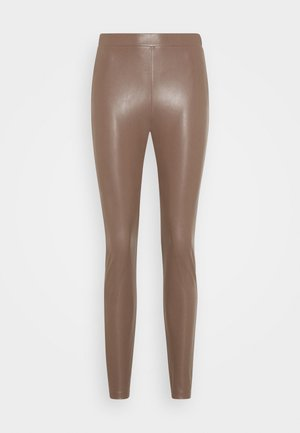 RANGHI - Leggings - Trousers - tortora