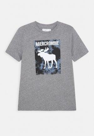 LOGO - Print T-shirt - grey