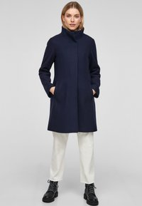 s.Oliver - Classic coat - navy - 1