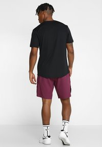 Nike Performance - DRY - T-shirts basic - black/white - 2