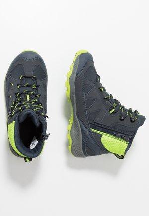 CASCADE - Winter boots - marine/lemon