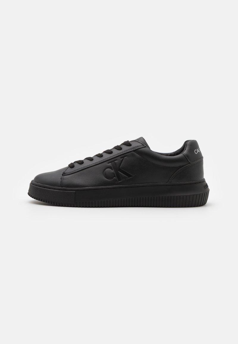 Calvin Klein Jeans - CHUNKY SOLE LACEUP - Matalavartiset tennarit - black