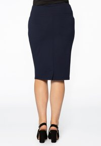 Yoek - Pencil skirt - blue - 1