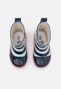 Playshoes - HALBSCHAFT MARITIM UNISEX - Bottes en caoutchouc - marine/weiß - 3
