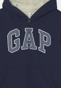 GAP - BOY COZY LOGO - Sweater met rits - blue galaxy - 3