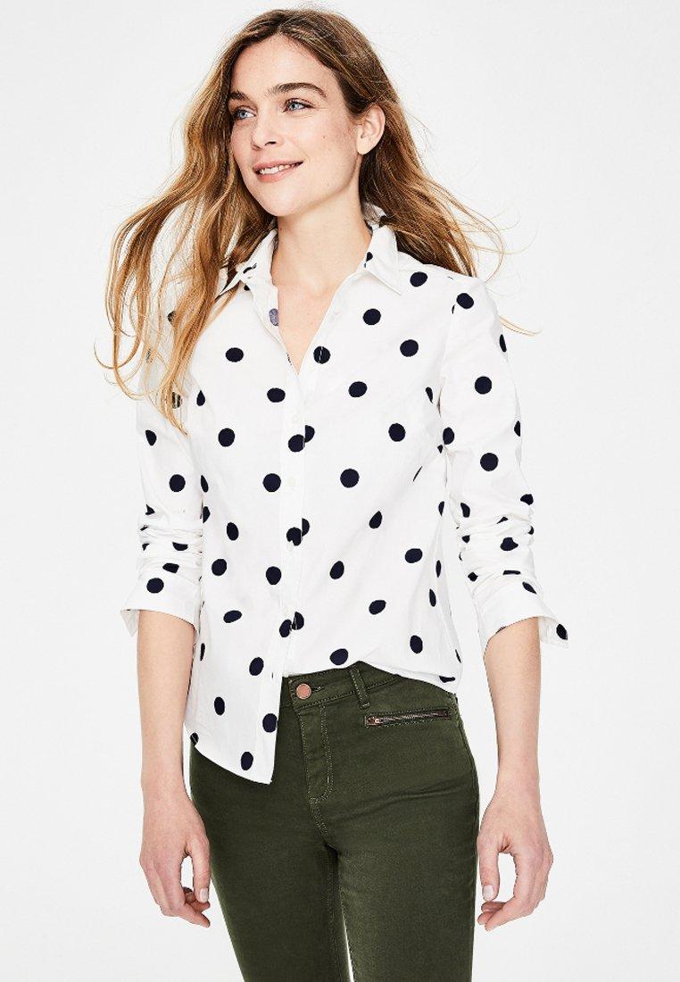 Boden - DAS NEW CLASSIC - Button-down blouse - off-white