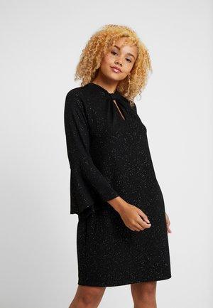 PETITE SEQUIN KNOT TWIST SWING DRESS - Robe d'été - black