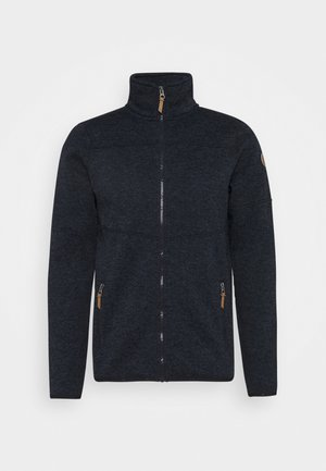 ALBERTON - Fleecejacke - dark blue
