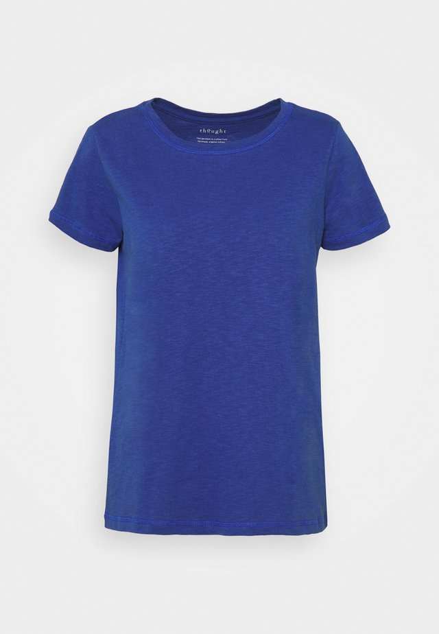 FAIRTRADE ORGANIC TEE - Basic T-shirt - azure blue