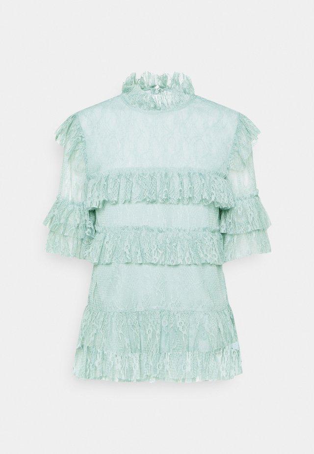 RACHEL BLOUSE - Bluser - serene blue
