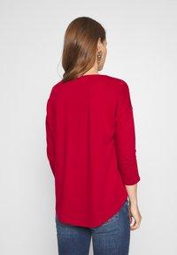 Q/S designed by - Maglietta a manica lunga - brick red - 2
