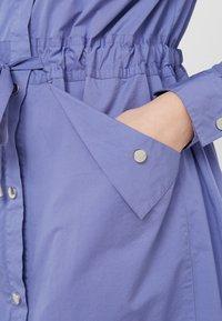 BOSS - ESPIRIT - Shirt dress - dark purple - 5