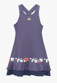 adidas Performance - FRILL DRESS - Sports dress - purple - 0