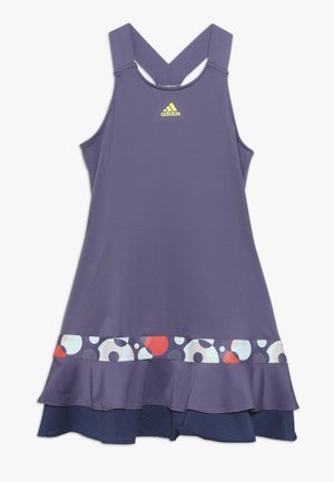 FRILL DRESS - Sportovní šaty - purple