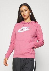Nike Sportswear - HOODIE - Hoodie - desert berry - 0
