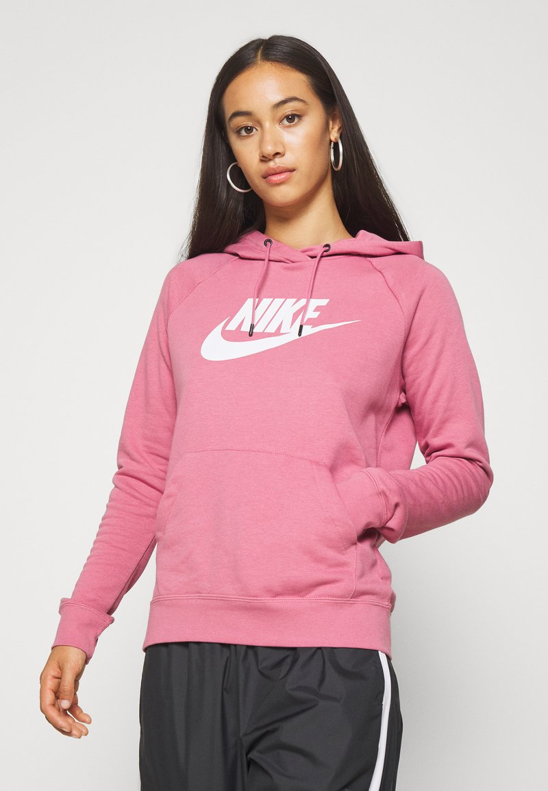 Nike Sportswear - HOODIE - Kapuzenpullover - desert berry