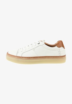 PALLERONE - Casual lace-ups - white
