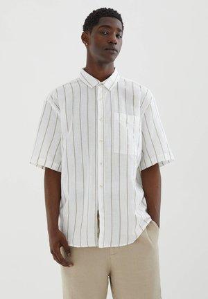 Skjorta - mottled beige