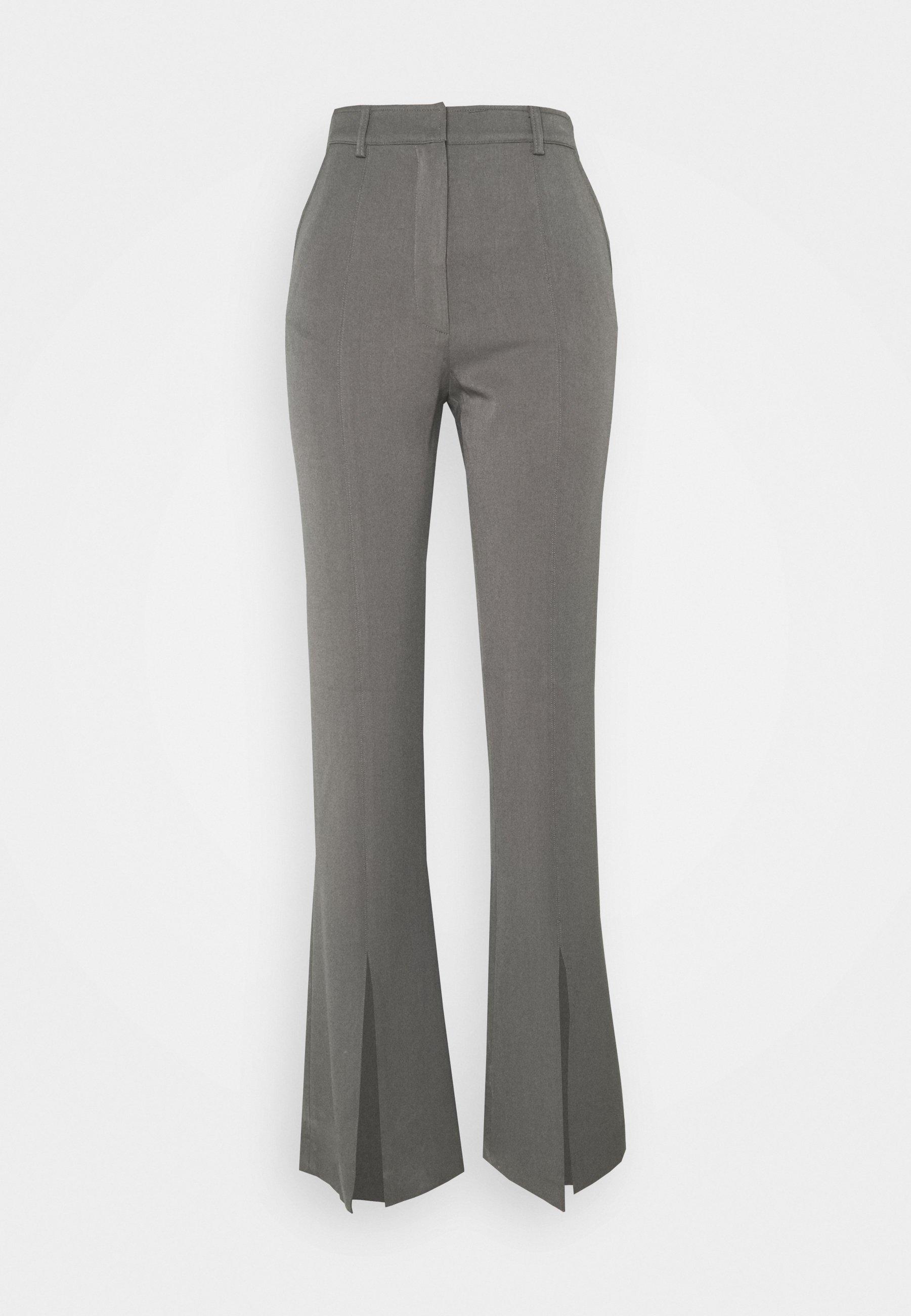 Women FRONT SLIT TROUSER - Trousers