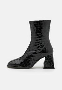MISTRESS SMART BLOCK BOOT - Kotníkové boty - black