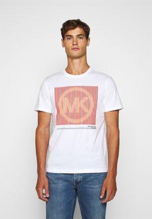 TONAL TEE - T-shirt con stampa - white