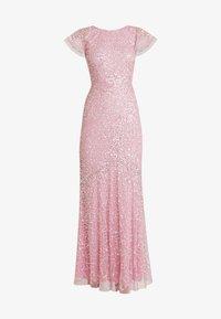 Maya Deluxe - ALL OVER EMBELLISHED DRESS - Ballkjole - pink - 7