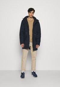 INDICODE JEANS - CARVER - Winter coat - navy - 1