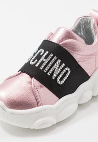 MOSCHINO - Slip-ons - rose gold