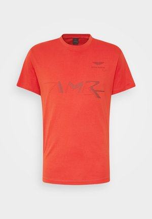 LOGO TEE - T-shirt print - burnt orange