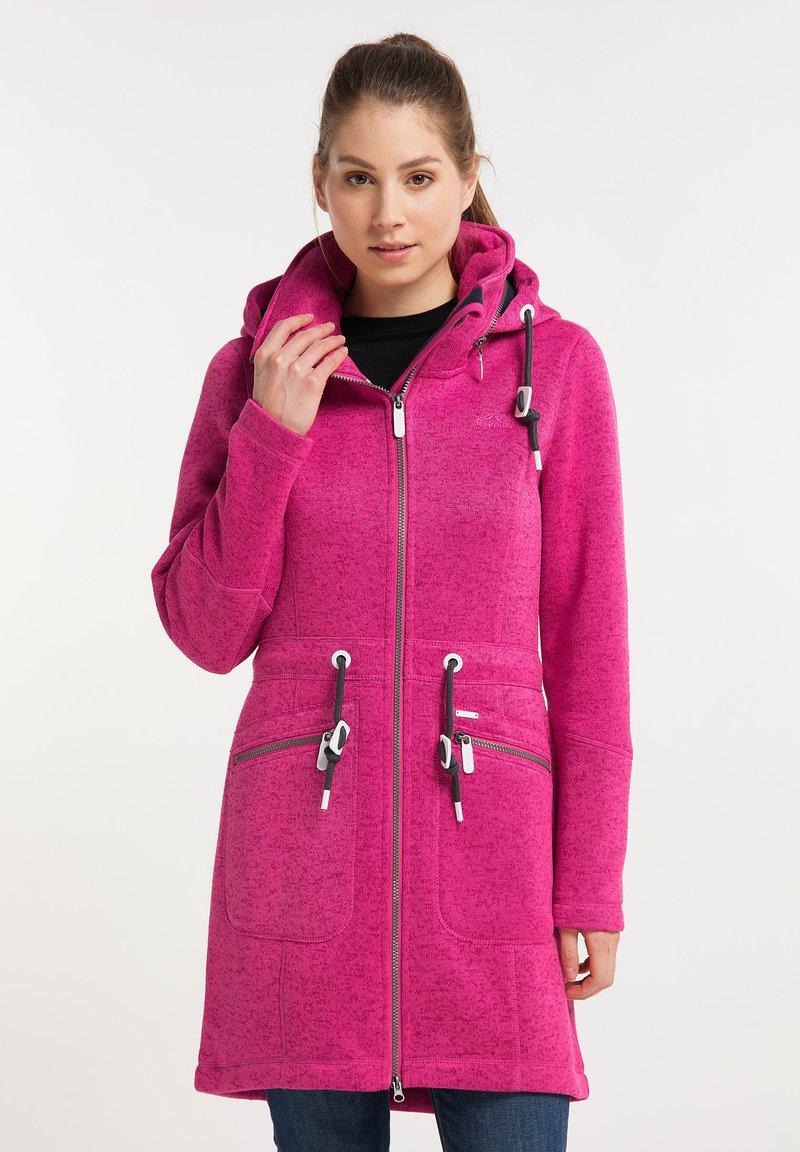 ICEBOUND - Krátký kabát - pink melange