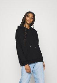 ONLY - ONLTENNA LIFE OVERSIZE HOOD - Sweatshirt - black - 0