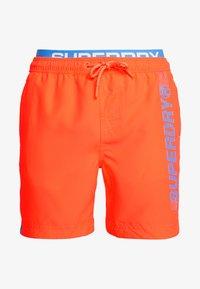 Superdry - STATE VOLLEY SWIM  - Zwemshorts - havana orange - 2