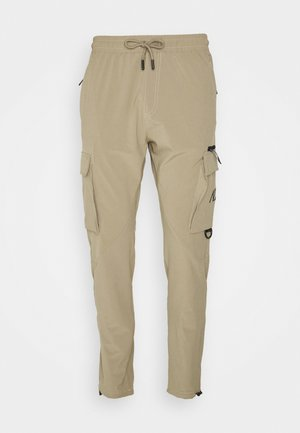 PANT - Cargo trousers - stone
