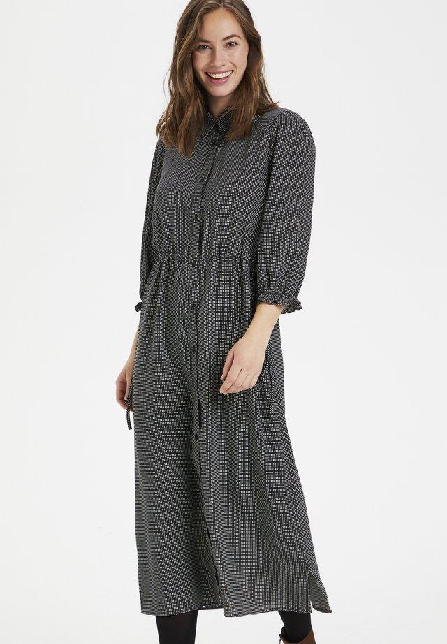 CURAYA - Shirt dress - black