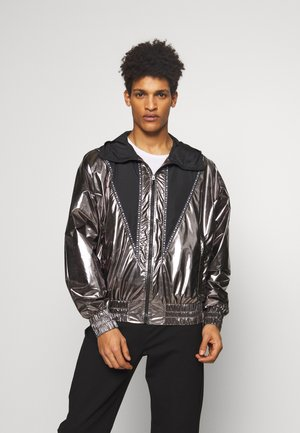 SPORTSJACKET TRACK - Lehká bunda - black/silver