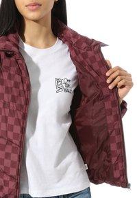 Vans - WM FOUNDRY - Winter jacket - port royale checkerboard - 2