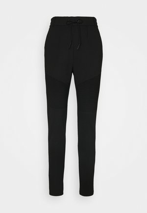 ONLPOPTRASH EASY BIKER PANT - Tracksuit bottoms - black