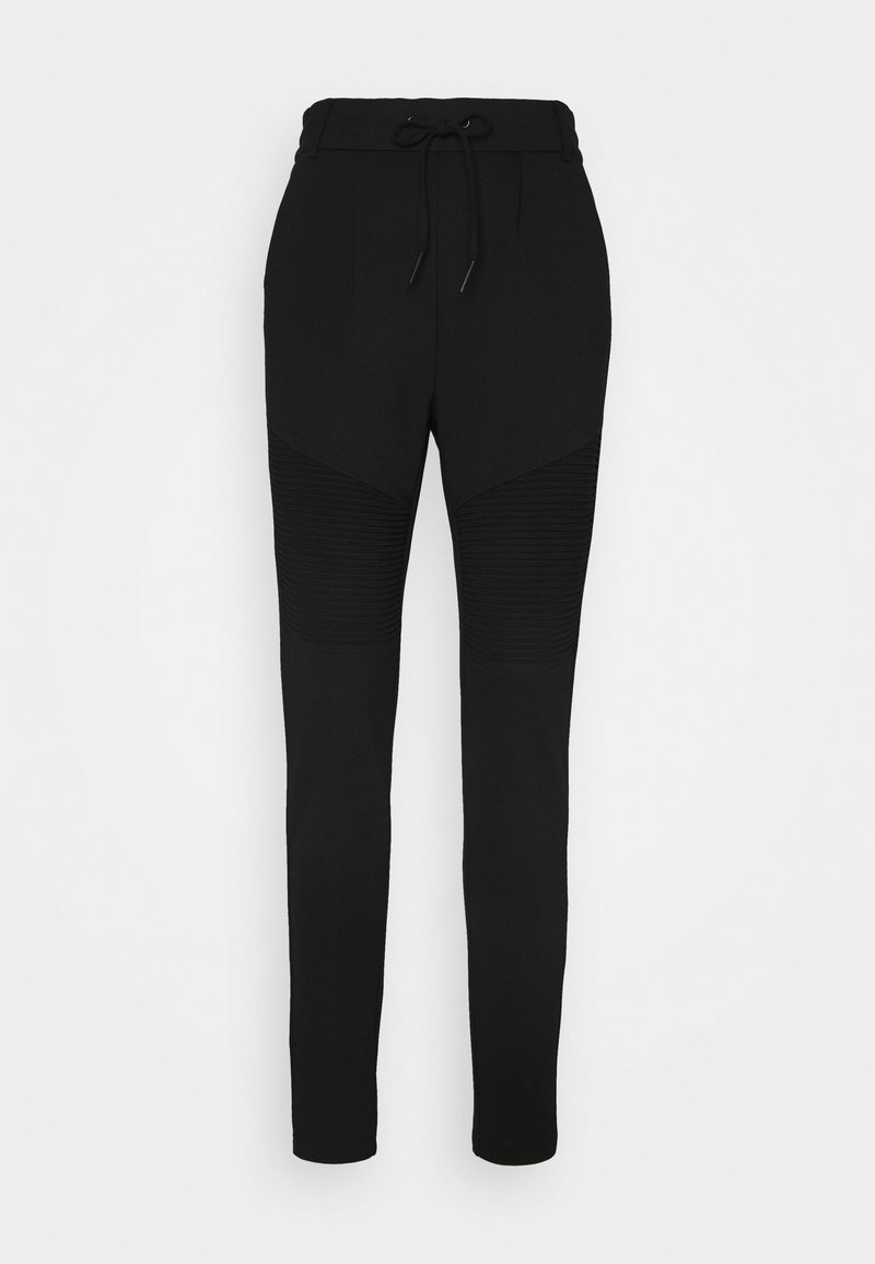 ONLY - ONLPOPTRASH EASY BIKER PANT - Tracksuit bottoms - black
