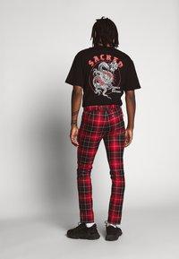 Topman - CHECK WHYATT - Kalhoty - multicolor - 2