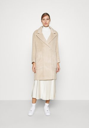 DRAWN COCCON COAT - Manteau classique - oatmeal